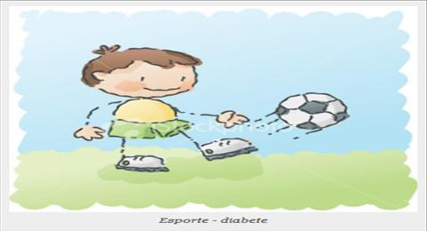 esporte diabete infantil