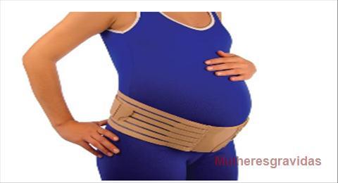 faixas de apoio para grávidas