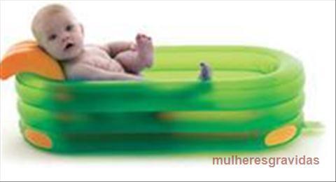 banheira inflável