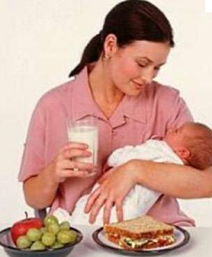 alimentação pós parto