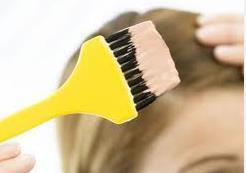 gravidez e pintar os cabelos