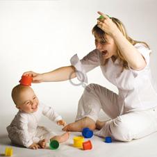 exercícios que estimulam bebê