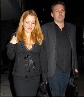 Gillian Anderson grávida