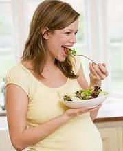 Alimentação da gestante influência gosto do bebê