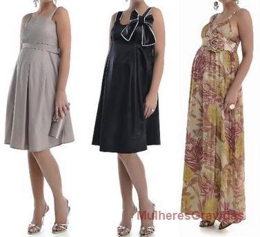 vestido de festa para grávidas