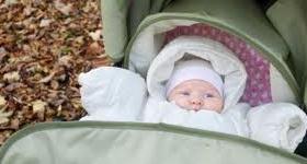 sair de casa com o bebê