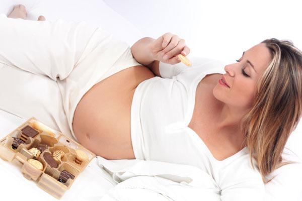 grávidas podem comer chocolates
